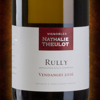Vignobles Nathalie Theulot – Rully blanc 2014